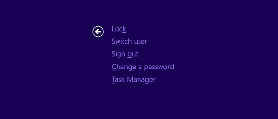 Switch user page