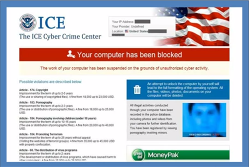 ICE Cyber Crime Center – How to Remove ICE Cyber Crime