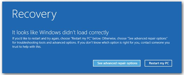 win8 recovery