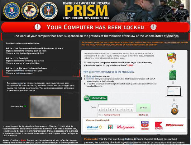 Remove Nsa Virus Demanding 300 Android Lock Virus Tips