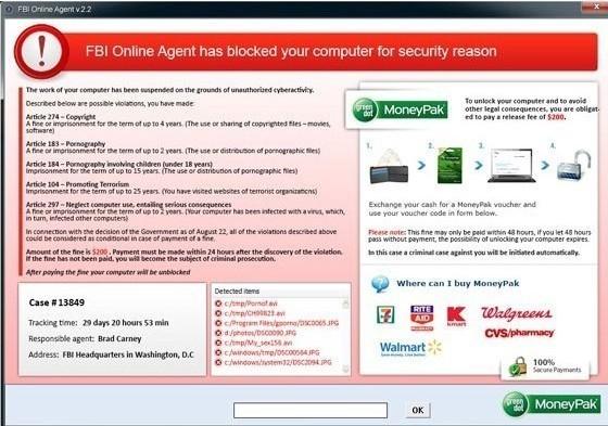 FBI online agent