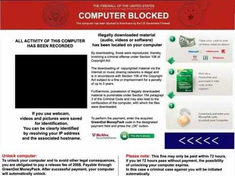Firewall ransomware