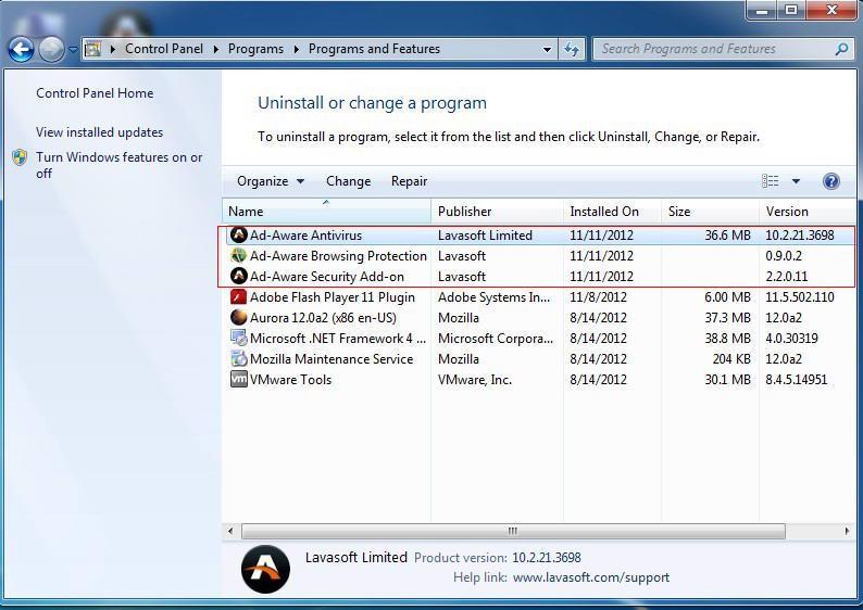 Uninstall-Ad-Aware-Antivirus-Pro-2