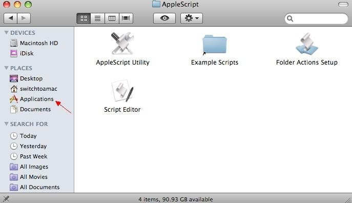 application mac