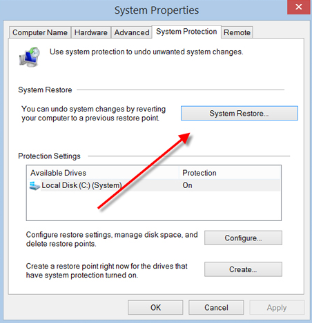 win8 System Properties