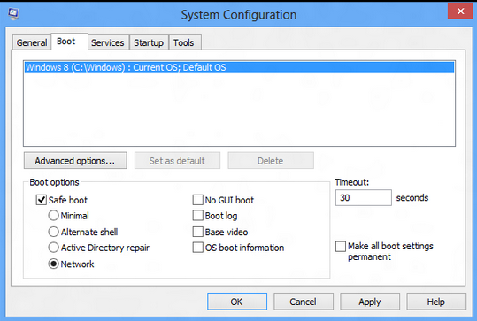 win8 system configuration
