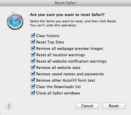 Reset-Safari-to-default-settings