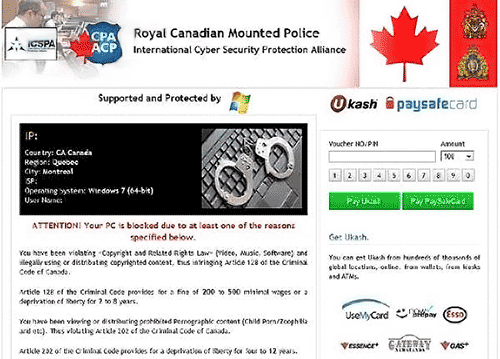 Royal-Canadian-Mounted-Police-virus
