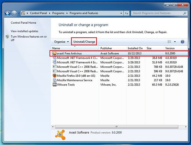 avast antivirus free software  for windows 7