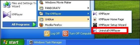UninstallKMPlayer