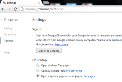 Chrome-Settings-Set-Pages