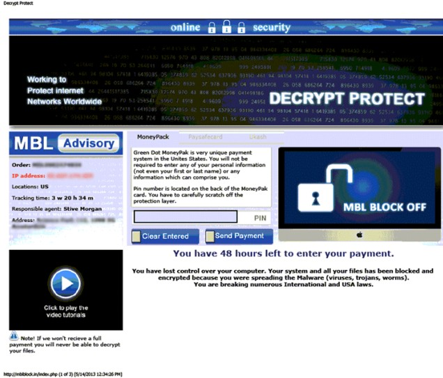 Ukash Decrypt