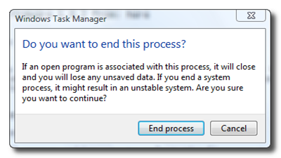 end processes