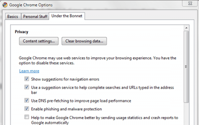google_chrome_options-under bonnet