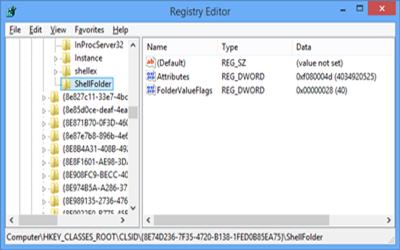 registry editor2