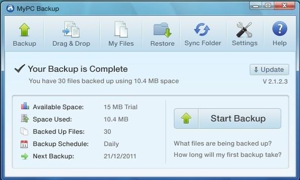 mypc backup image