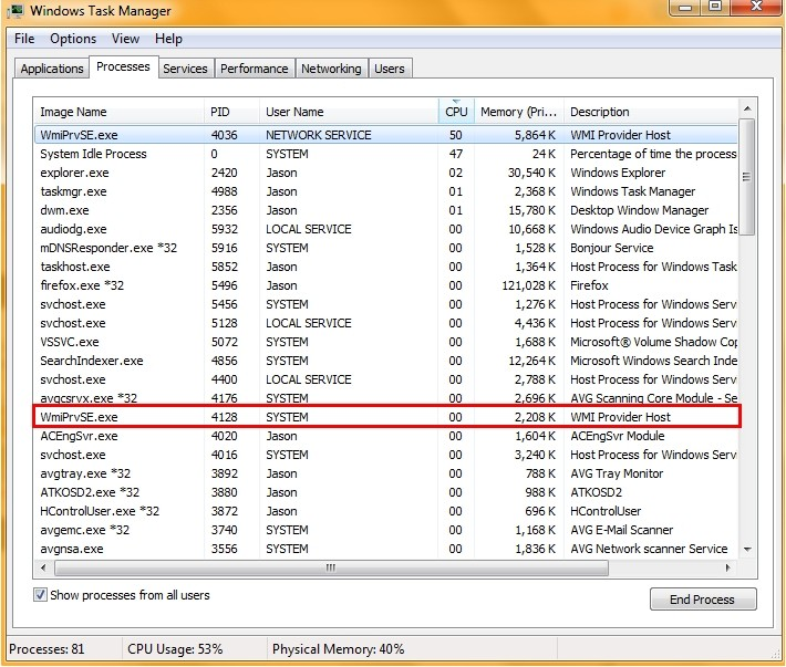 About Wmiprvse exe: Why It Consumes High CPU and How to Fix