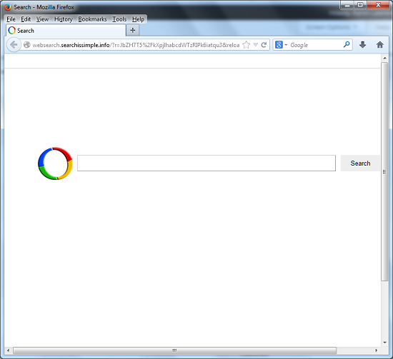Websearch.searchissimple.info-popup