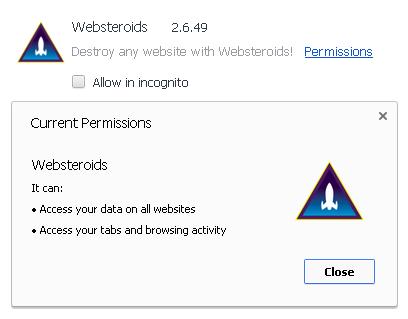 Websteroids