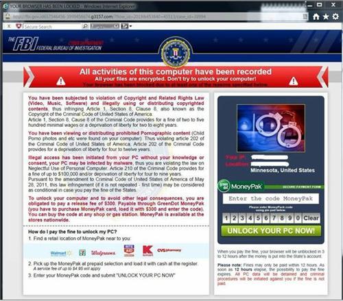 Your-browser-has-been-locked virus