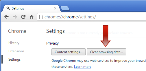 clear chrome cache to remove HEUR:Worm.Script.Generic