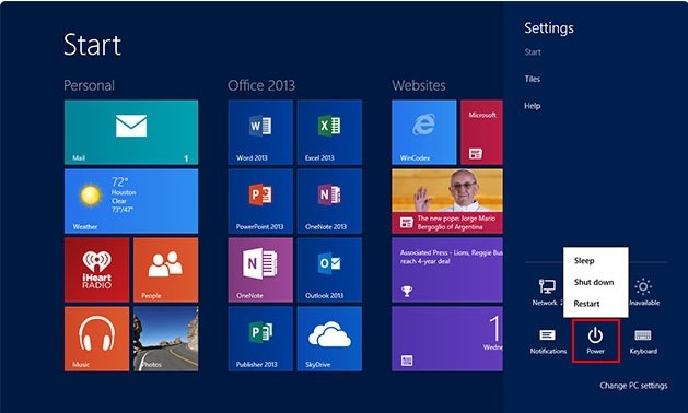 restart win8 to access safe mode and remove Win64.Patched.B.Gen