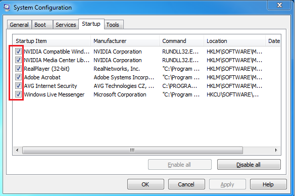remove  websearch.searchinweb.info's startup from windows