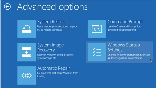 win8 advanced options