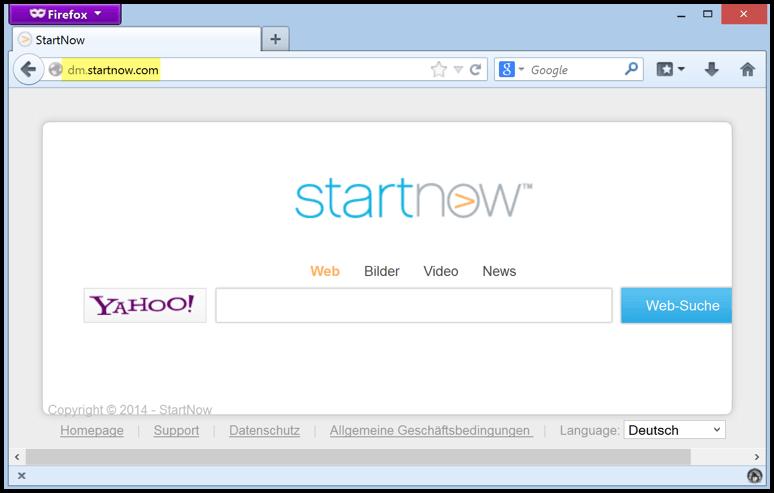 remove dm.startnow.com