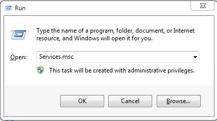 run service to end Windows Internet Guard's service