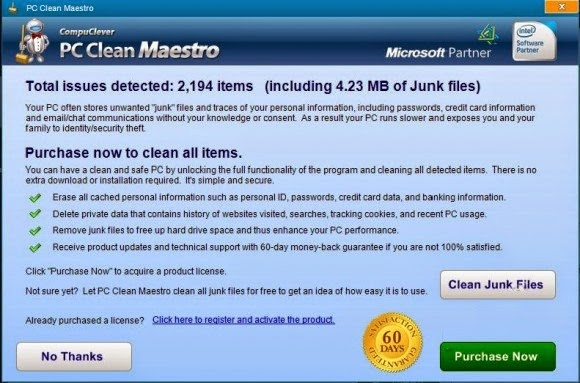 PC Clean Maestro, Is It A Normal Program? [How to Uninstall]