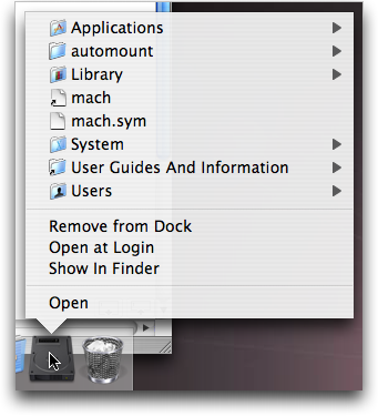 access the Immediatesupport.com related extensions in Library through harddisk-icon (for Mac)
