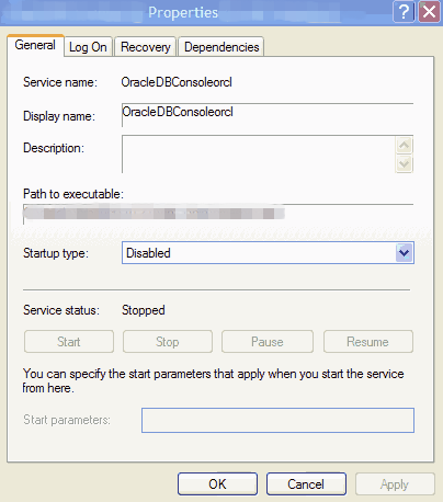 example: path to executables