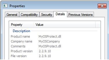 VilmaTech helps end MyOSProtec_dll