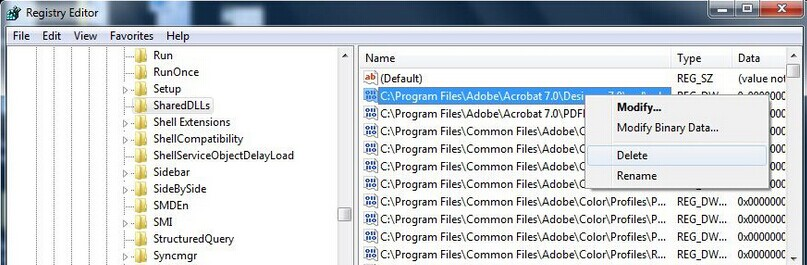 locate and delete the programs relavant to MyOSProtec_dll