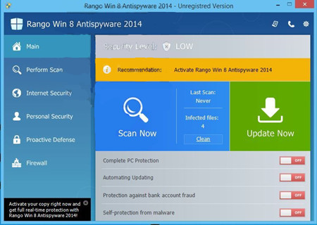 VilmaTech Helps Remove Rango-Win-8-Antispyware-2014