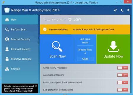 VilmaTech Helps Remove Rango-Win-8-Antispyware-2014
