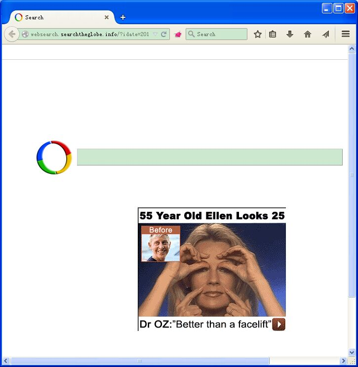 VilmaTech helps remove Websearch.searchtheglobe.info browser hijacker