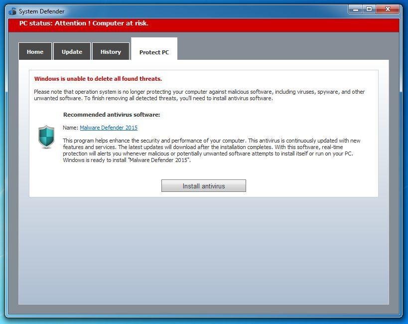 Vilmatech remove malware defender 2015
