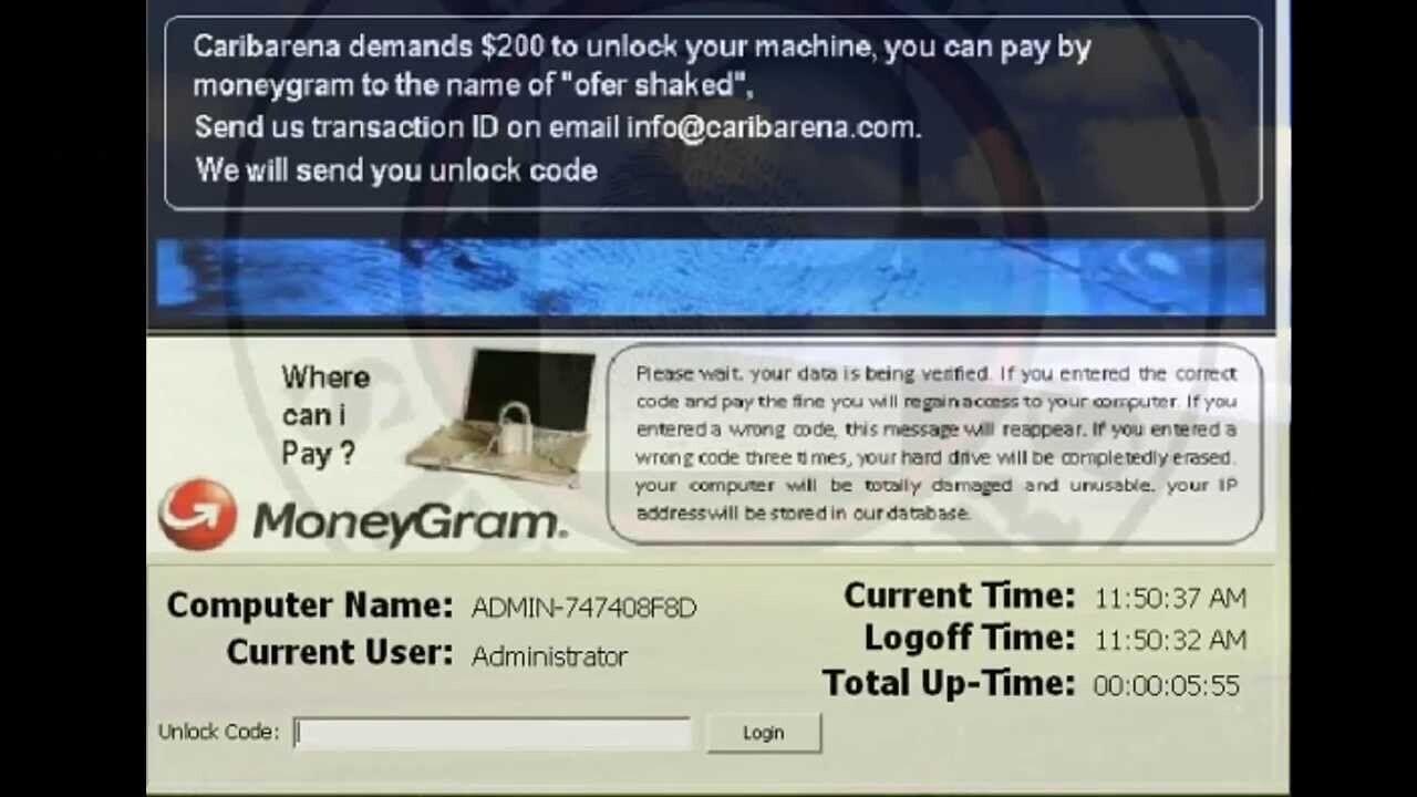 Caribarena Ransomware