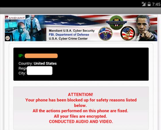 Remove FBI Department of Defense Android Virus, Koler Mobile