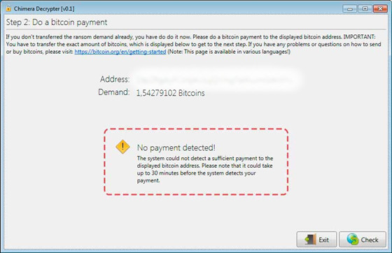 How to Remove Chimera Ransomware, New Encrypted Virus Removal