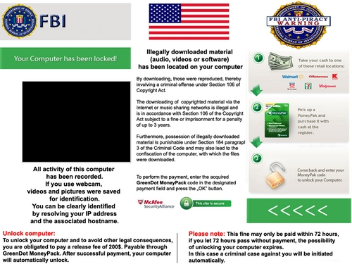 Remove FBI Anti-Piracy Warning Virus on Android Phone, Fix Android