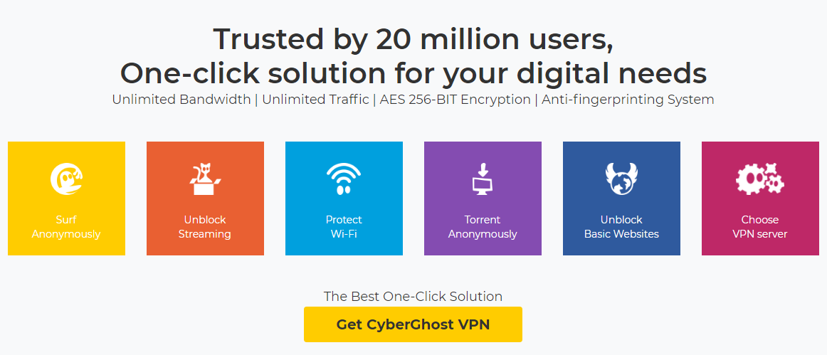 CyberGhost Discount Coupon: 79% Off Special Deal 2019