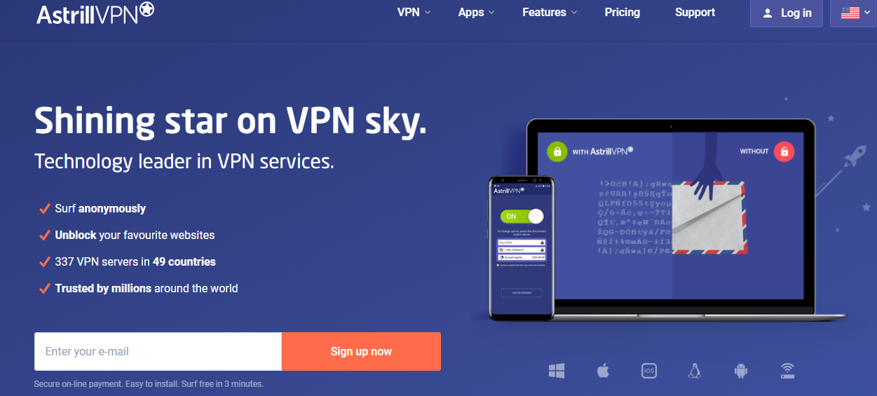 Synology how to setup vpn server