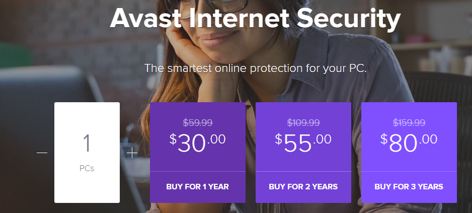 Discount coupon for avast