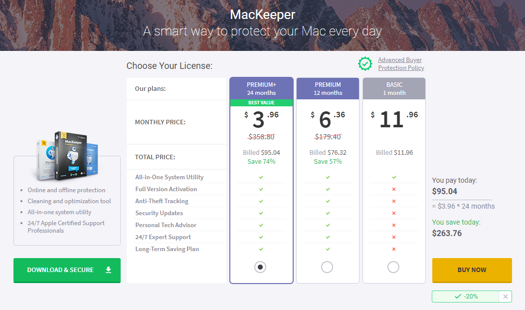 mackeeper activation code 2018