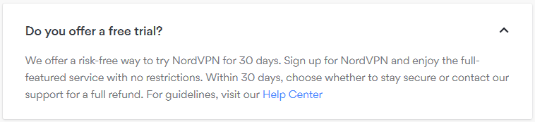NordVPN Free Trial: Try it Risk-Free for 30 Days in 2019